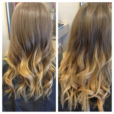 Beautiful hair extensions colchester beauty works celebrity choice dip dye balayage hair extensions pmusecretfo Choice Image
